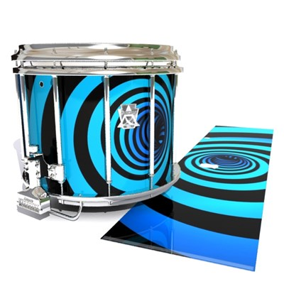 Ludwig Ultimate Series Snare Drum Slip - Blue Vortex Illusion (Themed)