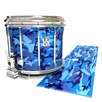 Ludwig Ultimate Series Snare Drum Slip - Blue Wing Traditional Camouflage (Blue)