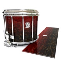 Ludwig Ultimate Series Snare Drum Slip - Burgundy Rock (Red)