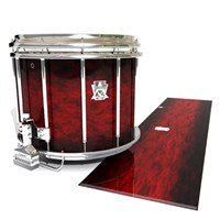 Ludwig Ultimate Series Snare Drum Slip - Burning Embers (red)