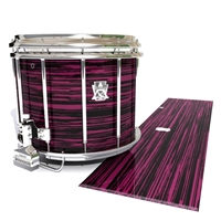 Ludwig Ultimate Series Snare Drum Slip - Chaos Brush Strokes Maroon and Black (Red)