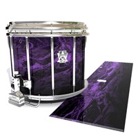Ludwig Ultimate Series Snare Drum Slip - Coast GEO Marble Fade (Purple)