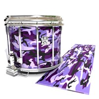 Ludwig Ultimate Series Snare Drum Slip - Coastline Dusk Traditional Camouflage (Purple)