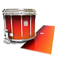 Ludwig Ultimate Series Snare Drum Slip - Coral Sunset (Orange)