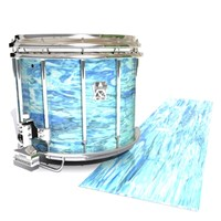 Ludwig Ultimate Series Snare Drum Slip - Cosmic Tide (Blue)