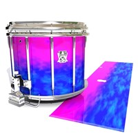 Ludwig Ultimate Series Snare Drum Slip - Cotton Candy (Blue) (Pink)