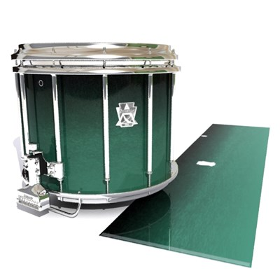 Ludwig Ultimate Series Snare Drum Slip - Deep Viridian Fade (Green)