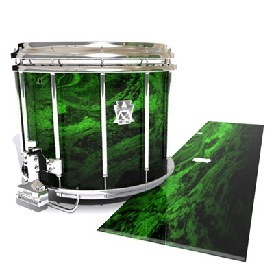Ludwig Ultimate Series Snare Drum Slip - Forest GEO Marble Fade (Green)