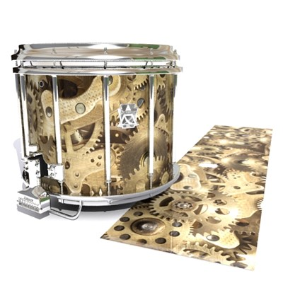 Ludwig Ultimate Series Snare Drum Slip - Golden Gears (Themed)