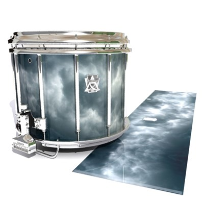 Ludwig Ultimate Series Snare Drum Slip - Grey Smokey Clouds (Themed)