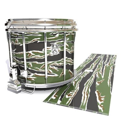 Ludwig Ultimate Series Snare Drum Slip - Liberator Tiger Camouflage (Green)
