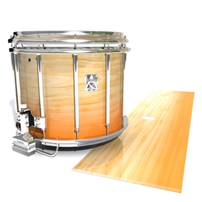 Ludwig Ultimate Series Snare Drum Slip - Maple Woodgrain Orange Fade (Orange)