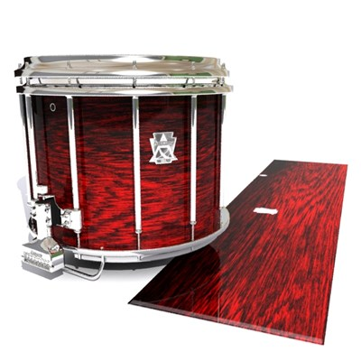 Ludwig Ultimate Series Snare Drum Slip - Rosy Red Rosewood (Red)