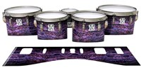 Ludwig Ultimate Series Tenor Drum Slips - Alien Purple Grain (Purple)