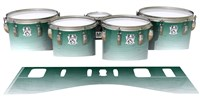 Ludwig Ultimate Series Tenor Drum Slips - Alpine Fade (Green)