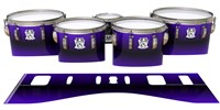 Ludwig Ultimate Series Tenor Drum Slips - Antimatter (Purple)