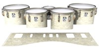 Ludwig Ultimate Series Tenor Drum Slips - Antique Atlantic Pearl (Neutral)