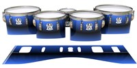 Ludwig Ultimate Series Tenor Drum Slips - Azzurro (Blue)