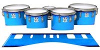 Ludwig Ultimate Series Tenor Drum Slips - Bermuda Blue (Blue)