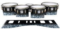 Ludwig Ultimate Series Tenor Drum Slips - Blue Ridge Graphite (Neutral)