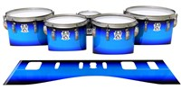 Ludwig Ultimate Series Tenor Drum Slips - Bluez (Blue)