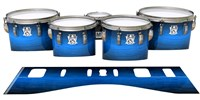 Ludwig Ultimate Series Tenor Drum Slips - Cayman Night (Blue)