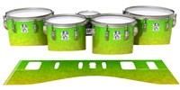 Ludwig Ultimate Series Tenor Drum Slips - Cool Lemon Lime (Green)