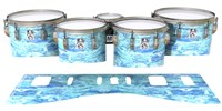 Ludwig Ultimate Series Tenor Drum Slips - Cosmic Tide (Blue)