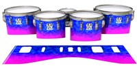 Ludwig Ultimate Series Tenor Drum Slips - Cotton Candy (Blue) (Pink)