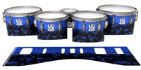 Ludwig Ultimate Series Tenor Drum Slips - Dark Cloudy Night (Purple)