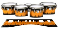 Ludwig Ultimate Series Tenor Drum Slips - Daybreak (Orange)