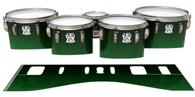 Ludwig Ultimate Series Tenor Drum Slips - Deep Bamboo (Green)