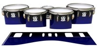 Ludwig Ultimate Series Tenor Drum Slips - Deep Dark Sea (Blue)