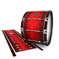 Mapex Quantum Bass Drum Slip - Active Red (Red)