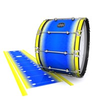 Mapex Quantum Bass Drum Slip - Afternoon Fade (Blue)