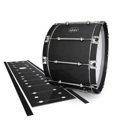 Mapex Quantum Bass Drum Slip - Black Stain (Neutral)