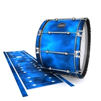 Mapex Quantum Bass Drum Slip - Blue Smokey Clouds (Themed)