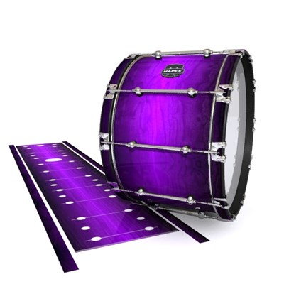 Mapex Quantum Bass Drum Slip - Distant Galaxy Fade (Purple)