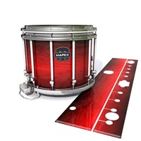 Mapex Quantum Snare Drum Slip - Active Red (Red)