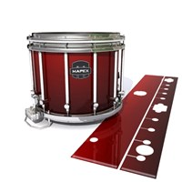 Mapex Quantum Snare Drum Slip - Apple Maple Fade (Red)