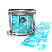 Mapex Quantum Snare Drum Slip - Aquatic Refraction (Themed)