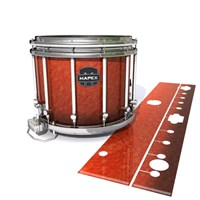 Mapex Quantum Snare Drum Slip - Autumn Fade (Orange)