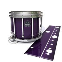 Mapex Quantum Snare Drum Slip - Black Cherry (Purple)