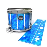 Mapex Quantum Snare Drum Slip - Blue Cosmic Glass (Blue)