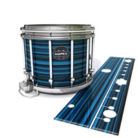 Mapex Quantum Snare Drum Slip - Blue Horizon Stripes (Blue)