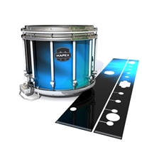 Mapex Quantum Snare Drum Slip - Blue Light Rays (Themed)