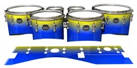 Mapex Quantum Tenor Drum Slips - Afternoon Fade (Blue)