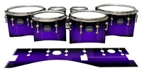 Mapex Quantum Tenor Drum Slips - Amethyst Haze (Purple)