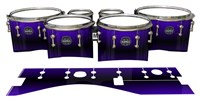 Mapex Quantum Tenor Drum Slips - Antimatter (Purple)