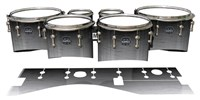 Mapex Quantum Tenor Drum Slips - Arctic Night Fade (Neutral)